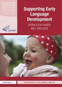 Supporting Early Language Development Pdf/ePub eBook