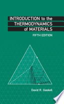 Introduction to the Thermodynamics of Materials  Fifth Edition Book