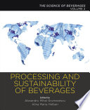 Processing and Sustainability of Beverages