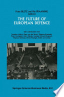 The Future of European Defence Book