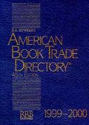 American Book Trade Directory, 1999-2000
