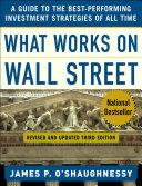 What Works on Wall Street Pdf/ePub eBook