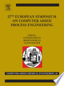 27th European Symposium On Computer Aided Process Engineering Book PDF