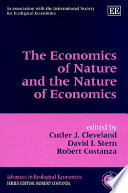 The Economics of Nature and the Nature of Economics