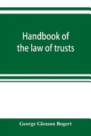 Handbook Of The Law Of Trusts