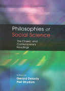 Philosophies of social science