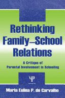 Rethinking Family school Relations