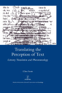 Translating the Perception of Text Book