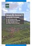 GEOGRAFÍA GENERAL II. GEOGRAFÍA HUMANA