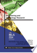 Engineering and Technology Research