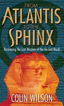 From Atlantis To The Sphinx Pdf/ePub eBook