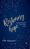 Pdf Restoring Hope : Remain hopeful when hope is lost