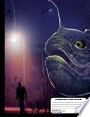 Purple Sea Monster on Land Composition Dot Grid Notebook