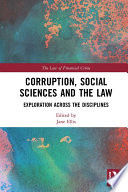 Corruption  Social Sciences and the Law