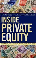 Inside Private Equity Pdf/ePub eBook