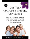 One-Year ABA Parent Training Curriculum