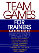 Pdf Team Games for Trainers