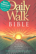 The Daily Walk Bible NLT Book