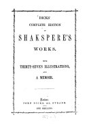 Dicks  complete edition of Shakspere s Works