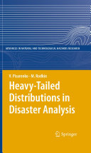 Heavy Tailed Distributions in Disaster Analysis
