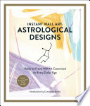Instant Wall Art Astrological Designs