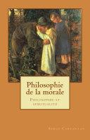 Pdf Philosophie de la Morale