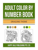 Adult Color by Number Book