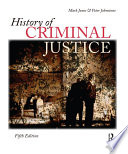 Download History of Criminal Justice Book