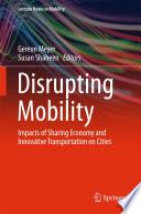 Disrupting Mobility Book PDF