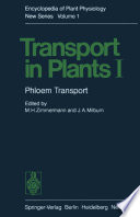 Transport in Plants I Book