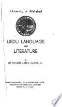Urdu language and literature