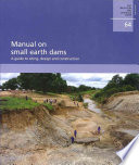 Manual on Small Earth Dams