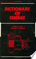 Dictionary of Energy