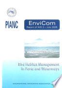 Bird Habitat Management in Ports and Waterways