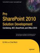Pro SharePoint 2010 Solution Development Pdf