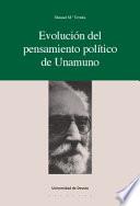 Evolución del pensamiento político de Unamuno