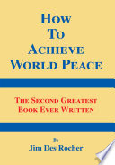How To Achieve World Peace