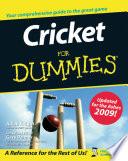"""Cricket For Dummies"" by Julian Knight, Gary Palmer, Steve Bull"