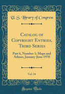Catalog of Copyright Entries, Third Series, Vol. 24
