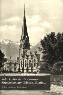 John L. Stoddard's Lectures : Supplementary Volumes: South Tyrōl. Around Lake Garda. The Dolomites