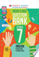 """""""Oswaal NCERT & CBSE Question Bank Class 7 English (For March 2021 Exam)"""" by Oswaal Editorial Board"""