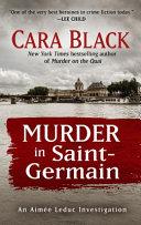 Murder in Saint Germain Book