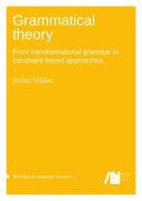 Grammatical theory