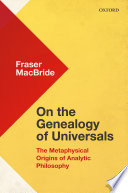 On The Genealogy Of Universals