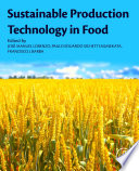 Sustainable Production Technology in Food Book