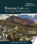 Business Law and the Legal Environment  Standard Edition Book PDF