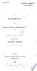 A Sermon On Religious Charity