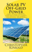 Solar PV Off-Grid Power