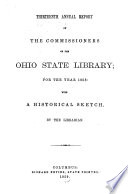Annual Report Of The Ohio State Library