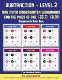 Kindergarten Math Book  Kindergarten Subtraction taking Away Level 2
